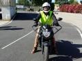 Formation au permis Moto en accéléré sur piste privée