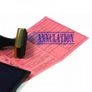 Annulation de permis